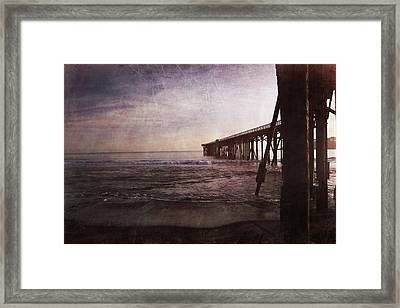 In My Dreams I'm Always With You Framed Print by Laurie Search