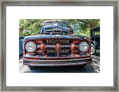 Framed Print featuring the photograph In My Grill by Michael Sussman