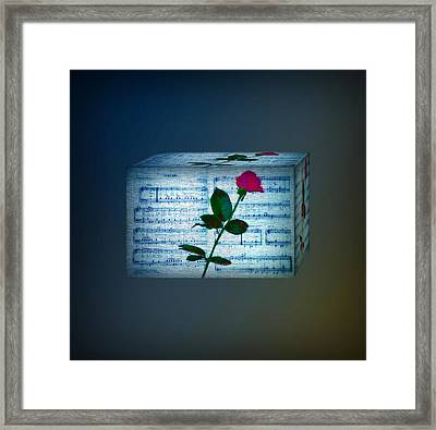 In My Life Cubed Framed Print by Bill Cannon