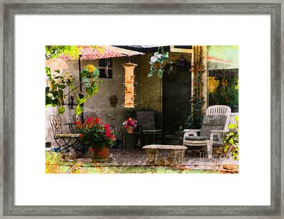 In My Mind's Eye Framed Print