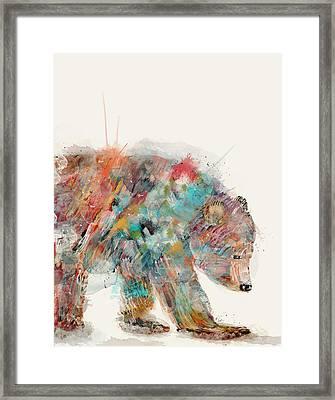 In Nature Bear Framed Print