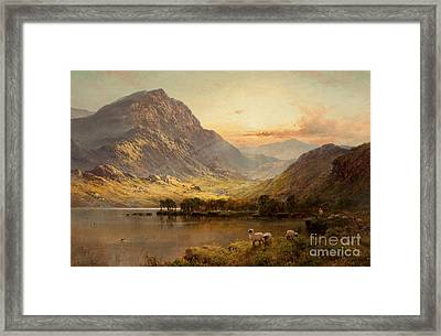 In North Wales Framed Print