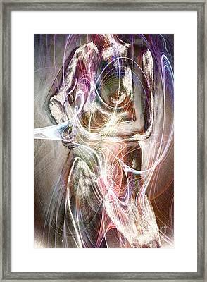 In Our Rags Of Light Framed Print