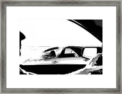 In Passing Framed Print