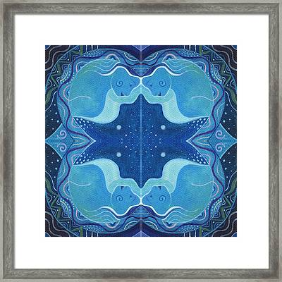 In Perfect Balance - T J O D 26 Compilation Framed Print by Helena Tiainen