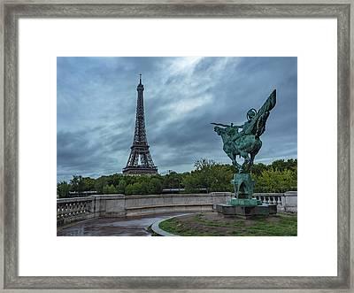 In Plain View Framed Print