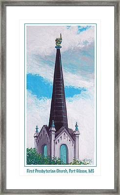 In Port Gibson Ms Framed Print