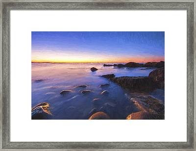 In Preparation For The Day II Framed Print by Jon Glaser