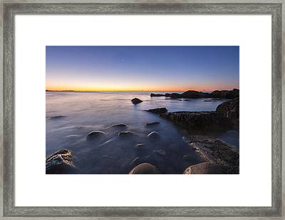 In Preparation For The Day Framed Print by Jon Glaser