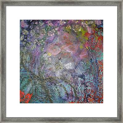 In Process Framed Print by Heather Hennick