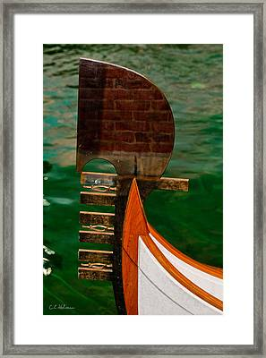 In Reflection Framed Print by Christopher Holmes