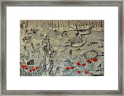 In Rememberance -- First World War Framed Print by Shahid Zuberi