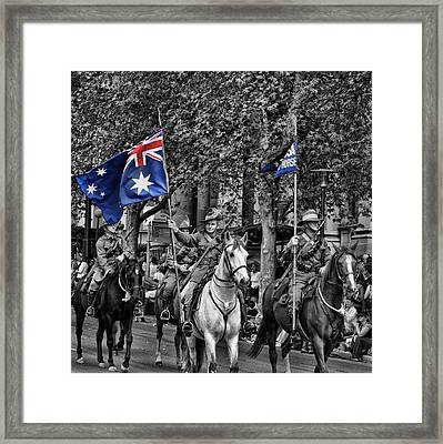 In Remembrance Framed Print by Douglas Barnard