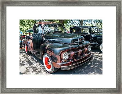 In Rust We Trust Framed Print