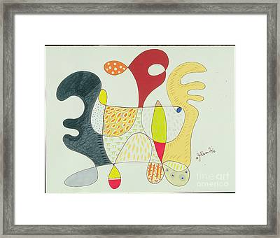 In Search Of A Conquest Copyright Two Thousand Nine J.a.moscariello Framed Print by Jaye  Alison
