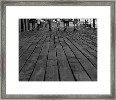 In Search Of A Few Heads Framed Print by Brian Murphy