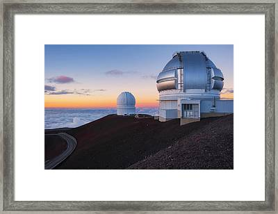 Framed Print featuring the photograph In Search Of Gemini by Ryan Manuel