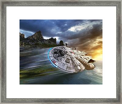 In Search Of Luke Skywalker Framed Print