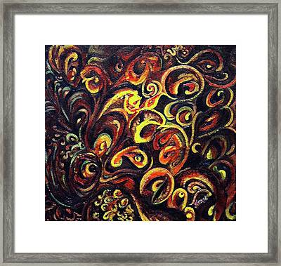 In Search Of  Ultimate Truth Framed Print