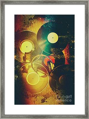 In Shapes And Colours Of Disco Framed Print by Jorgo Photography - Wall Art Gallery