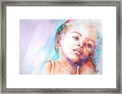 In Silence Framed Print by Stephie Butler
