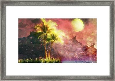 In Silhouette Framed Print