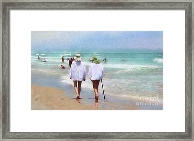 In Step With Life Framed Print