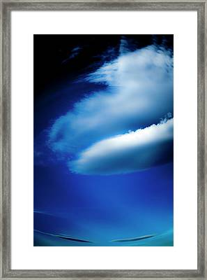 Framed Print featuring the photograph In The Air by Eric Christopher Jackson