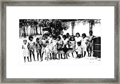 In The Amazon 1953 Framed Print by W E Loft