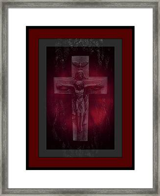 In The Arms Of God Framed Print by Darin Baker