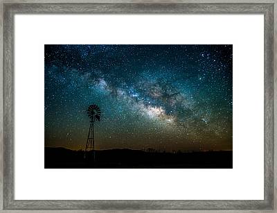 In The Beginning Framed Print