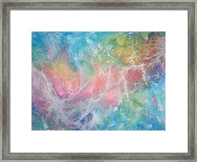 In The Beginning Framed Print by Dani Tupper