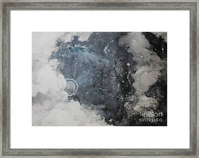 In The Beginning Framed Print by Elizabeth Carr