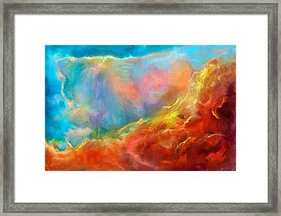 In The Beginning II Framed Print by Sally Seago