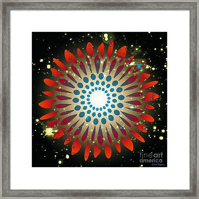 In The Beginning Framed Print by Leanne Seymour