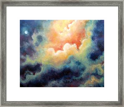 In The Beginning Framed Print by Marina Petro