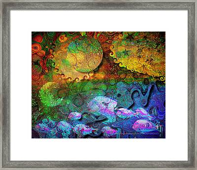 In The Beginning Framed Print by Mimulux patricia no No