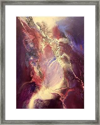 In The Beginning Framed Print by Robert Carver