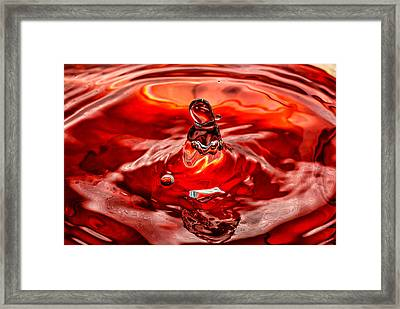 In The Beginning Framed Print by Steve Harrington