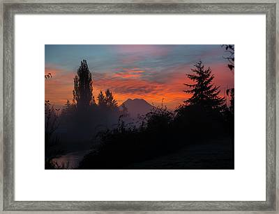 Framed Print featuring the photograph In The Beginning by Tikvah's Hope