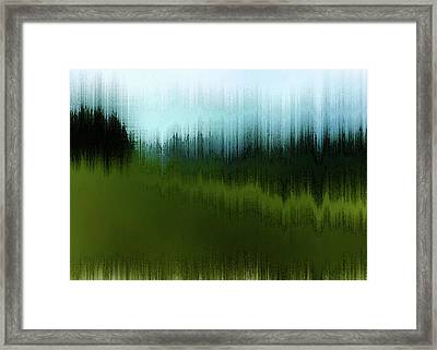 In The Black Forest Framed Print