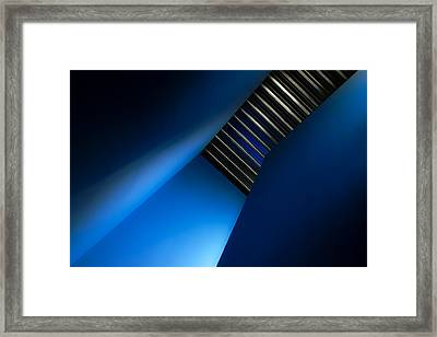 In The Blues Framed Print by Gilbert Claes