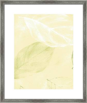 In The Breeze Framed Print