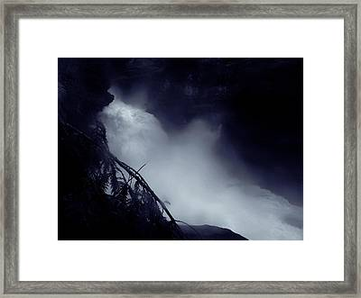 In The Canyon Framed Print by Scott Ballingall