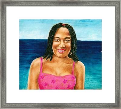 In The Caribbean Framed Print