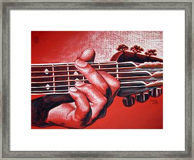 In The Chord Of G Framed Print