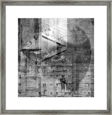 In The City Framed Print
