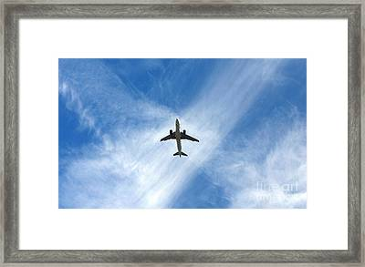 In The Cloud X Zone Framed Print