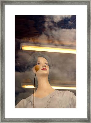 In The Clouds Of My Mind Framed Print by Jez C Self
