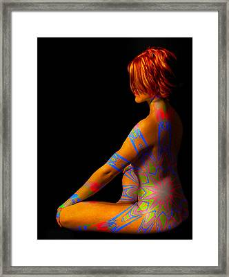 In The Corner Framed Print